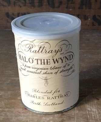 Vintage 1970's? UNOPENED Tin Of Rattray's Hal O' The Wynd Tobacco