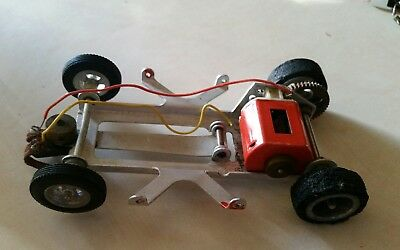 VINTAGE 1/24 Scale Slot Car Untested  Unknown brand  very nice chassis