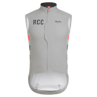Rapha RCC Pro Team Rain Gilet Medium Grey