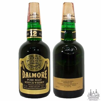 Dalmore Pure Malt Scotch Whisky 12 Years Old Anni '70 75 Cl 43°