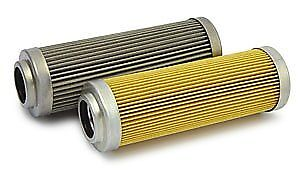 """Fuelab 71804 3"""" 6 Micron Micro-Fiberglass Filter Element With 2 Ring"""