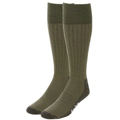 (Green, Large) - Teko Merino Wool Heavyweight Hiking/Expedition Socks