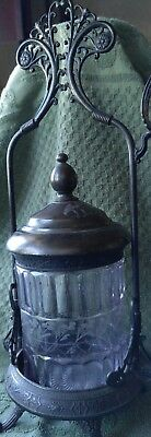 Antique Simpson Hall and Wallingford Pickle Caster 1866