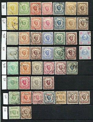 Collection Montenegro Classics stamps ☀ 1874 -1913 ☀ Used/MH