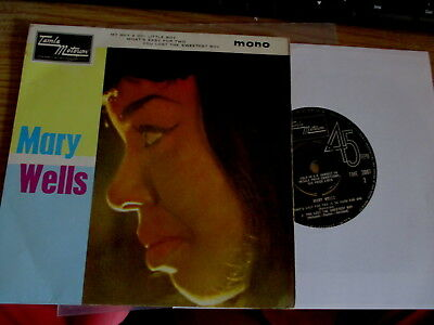 Motown/northern Soul-Mary Wells-Ep-1St Press-1964