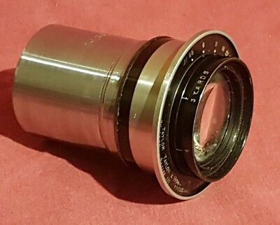"Taylor & Hobson Ltd 71/2"" Series III Focussing Cooke Lens 61/2 by 43/4 in"