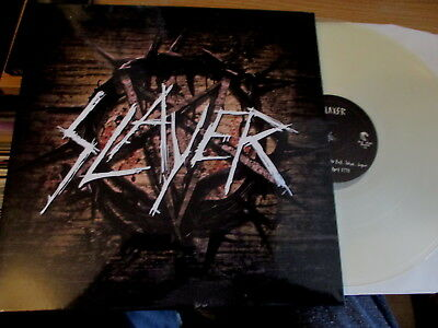 Double Lp Vinyl Record-Slayer-Tokyo Japan 1995-Clear Vinyl-Mint/unplayed-Metal