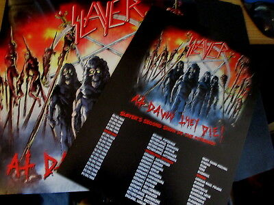 Double Lp Vinyl Record-Slayer-At Dawn They Die-Mint/unplayed-Metal