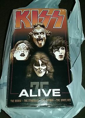 McFarlane Toys KISS Alive Deluxe Boxed Action Figures w/stage LTD RARE NIB HTF