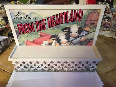 Enesco Mary's Moo Moos Display From The Heartland #674427 (h1428)