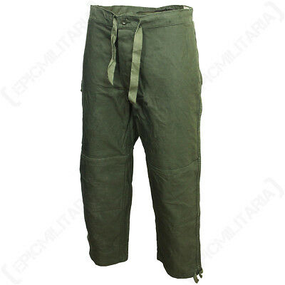 Original Belgian Army M88 Trousers - Army Surplus Military Pants Green All Sizes