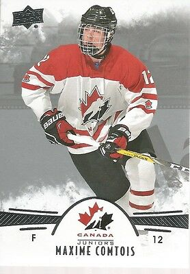Maxime Comtois #70 - 2016 Team Canada Juniors - Base Men