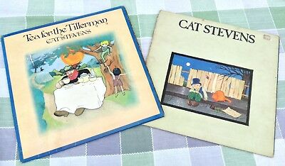 CAT STEVENS 'Tea For The Tillerman' & 'Teaser and the Firecat' 1st Press 2lp Lot