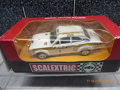 SCALEXTRIC C062 1/32 FORD ESCORT MEXICO RALLY CAR No1 - BOXED