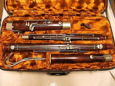 Bassoon J. Poeschl Munich, German, like Heckel, REDUCED!
