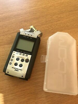 Zoom H4N Handy Audio Recorder with case and wind jammer