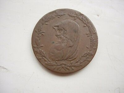 Angelsey mines druids head token 1789