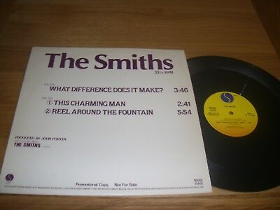 "The Smiths-What difference does it make.12"" promo american"