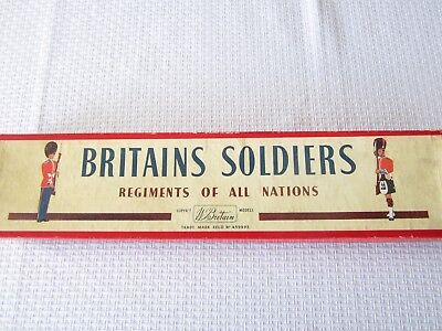 Britain's boxed Regiments of all Nations Bersaglieri set # 169