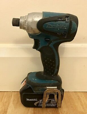 Makita 18V Impact Driver with BL1830 3.0Ah Battery