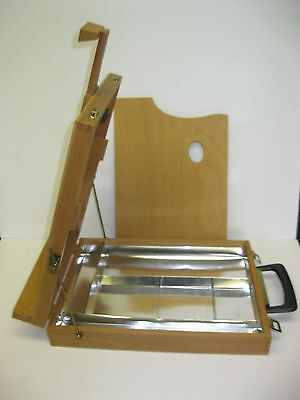 Artist Table Top Box Easel Brand New (Made in Italy)