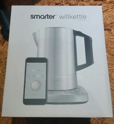 Smarter iKettle Wifi Kettle, Stainless Steel, Controlled using smartphone