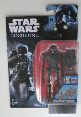 """Star Wars K-2SO Rogue One Hasbro 3,75"""" Action-Figur Eu-Card Imperial Droid K-2S0"""