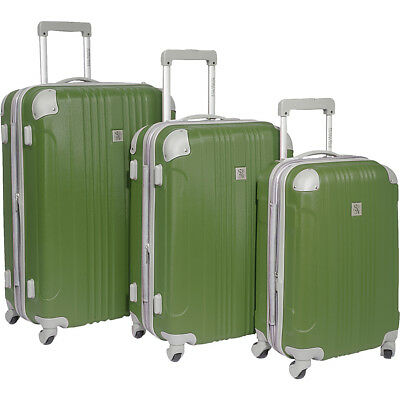 Beverly Hills Country Club Newport 3-Piece Spinner Luggage Set NEW