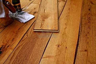 Engineered Old Worn Farmhouse Oak 20mm x 190mm Lacquered Quality Wood Flooring