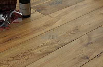 Engineered Old Smoked Antique Oak 20mm x 190mm Quality Wood Flooring