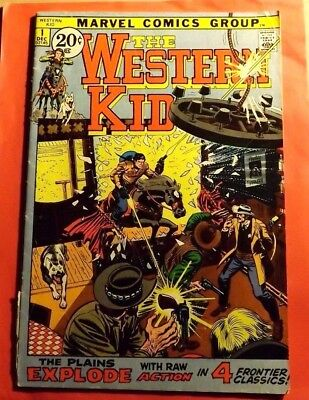 The Western Kid #1 Marvel Comics Early Bronze Age CB2879