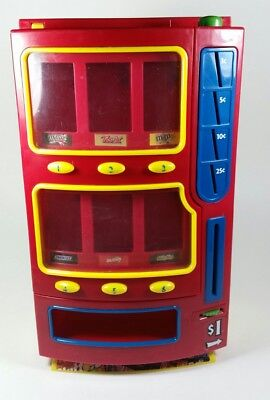 MARS Candy Bar 2004 Vending Machine M&M Bank Dispenser Toys Desktop Snicker Red