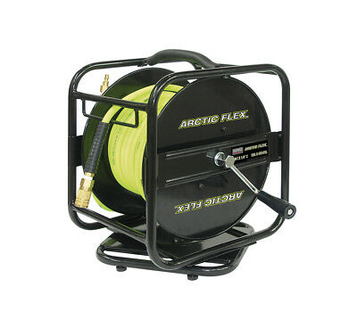 "King Canada Tools K-10014FRL 1/4"" x 100 feet MANUAL AIR HOSE REEL W/ HYBRID HOSE"