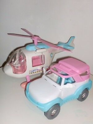 Animal Hospital Helicopter And Jeep