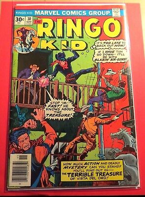 The Ringo Kid #30 Marvel Comics Bronze Age CB2789