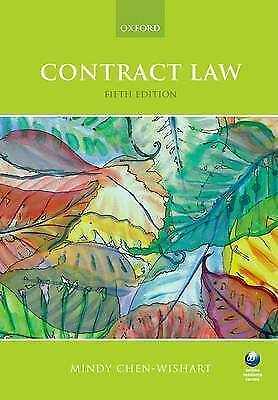 Contract Law by Mindy Chen-Wishart (Paperback, 2015)