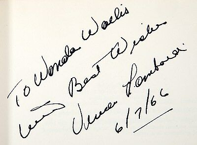Vince Lombardi signed Run to Daylight book Green Bay Packers - Taylor/Nitschke