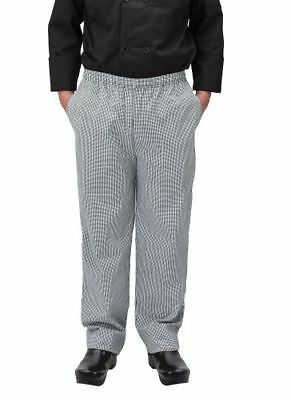 Winco UNF-4KL Chef Pants, houndstooth, Large 1 PC