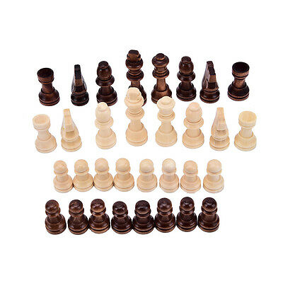 New 32pcs/set wooden chess king 5.5cm height.total weight about 90g Pop