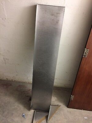 Stainless Steel Wall Shelf Commercial Catering Kitchen with brackets
