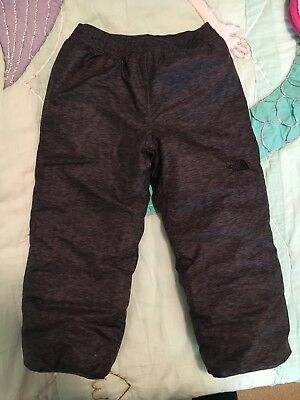 The North Face Boys Toddler Puffer Snow Pants Reversible 4T