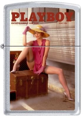 New Playboy  Pin Up Girl Zippo Lighter- Sexy Playmate June 1984 Magazine Cover