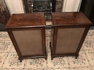 Vintage Dynatron Wooden Speakers