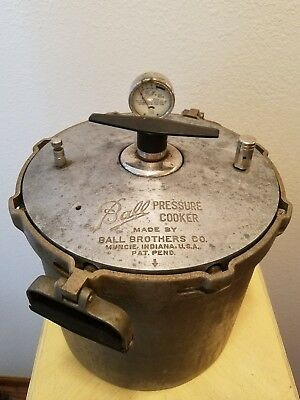 Vintage Ball Pressure Cooker Ball Brothers