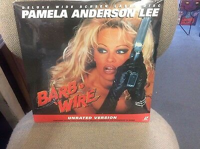 Laserdisc [s] * Barb Wire * Pamela Anderson Widescreen Unrated Version, Sealed!