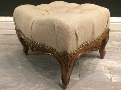 Antique Louis XV Style Foot Stool