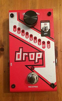 Digitech Drop - Drop tuning and octave pedal