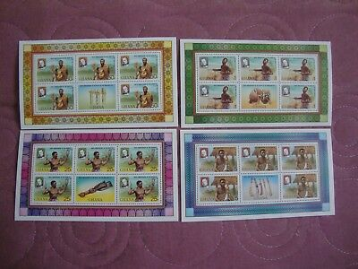 Rowland Hill Death Centenary 1980, Ghana stamp sheetlets