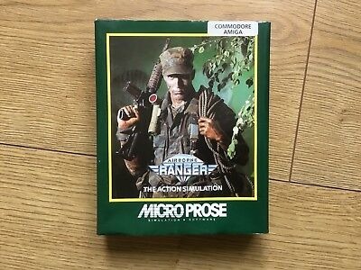 Airborne Ranger Commodore Amiga Boxed Game Tested