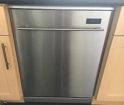 Kenwood Dishwasher, KDW12ST3A, Silver/Stainless Steel, Freestanding, 60cm Wide.